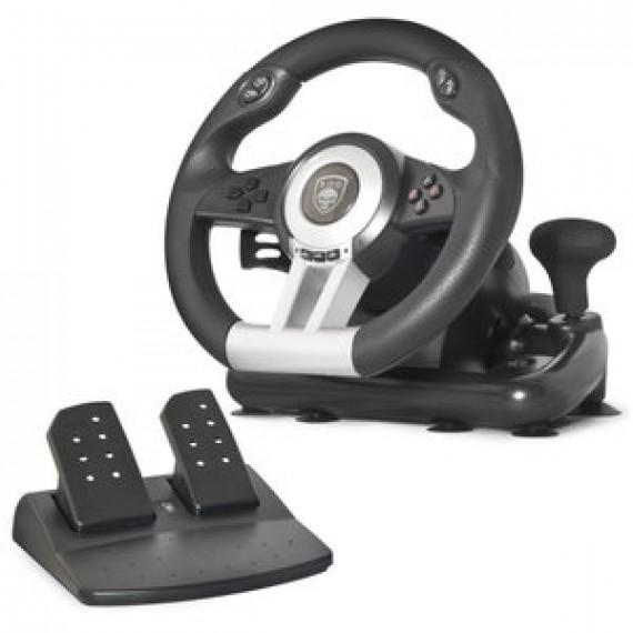 Volant Spirit of Gamer Race Wheel Pro 2 - Ensemble de simulation avec levier de vitesse (compatible PC / PlayStation 3 / PlayStation 4 / Xbox One)