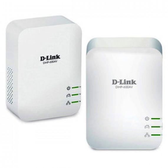 Kit CPL AV2 1000 HD Gigabit  D-Link DHP-601AV