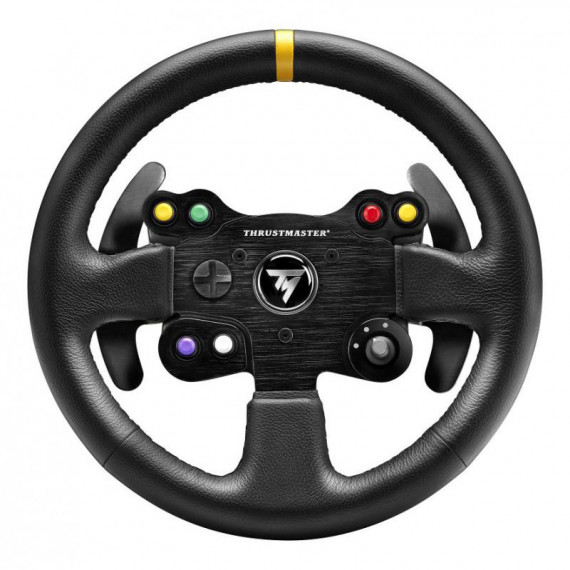 Volant de remplacement Thrustmaster TM Leather 28 GT Wheel Add-on (compatible T300 RS / T300 Ferrari GTE / T500 RS / Ferrari F1 Integral T500 / TX Racing Wheel Ferrari 458 Italia)