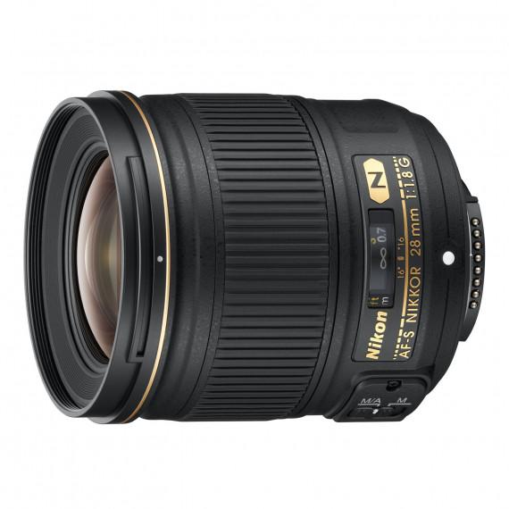 Nikon AF-S NIKKOR 28MM F/1.8G Objectif grand-angle à focale fixe de format FX 28 mm