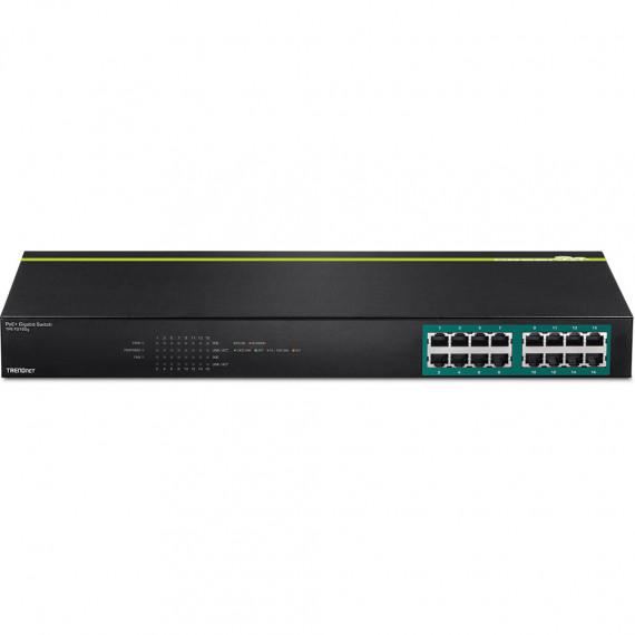 Switch  TRENDnet TPE-TG160g 16 ports 10/100/1000 Mbps PoE/PoE+