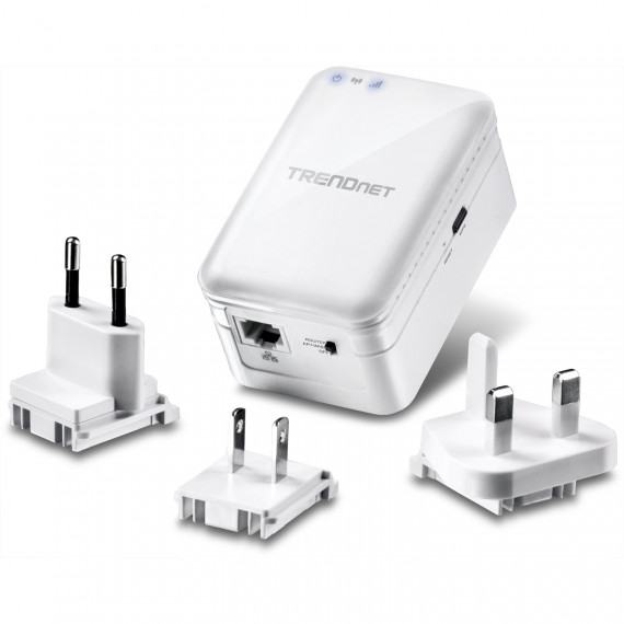 Routeur de voyage  TRENDnet TEW-817DTR Wi-Fi AC 750 Mbps (WiFi AC à 433 Mb/s + WiFi N à 300 Mb/s)