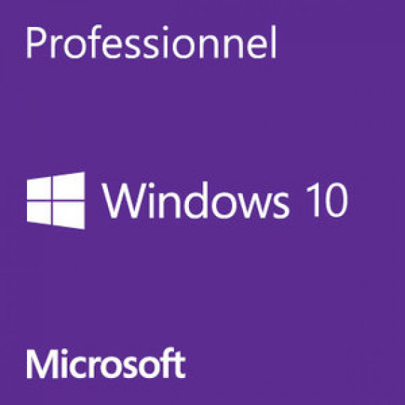 Microsoft Windows 10 Professionnel 32 bits OEM Get Genuine Kit