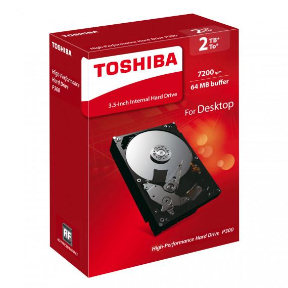 TOSHIBA P300 HDWD120EZSTA 2To