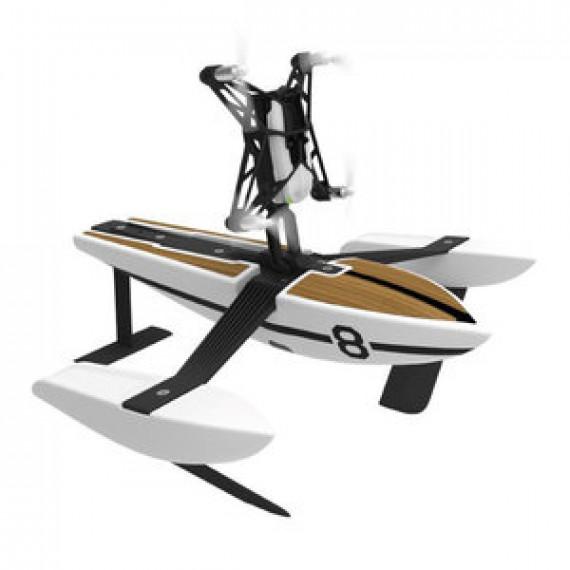MiniDrone Parrot Hydrofoil Hybride Newz - glissant sur l'eau et volant avec caméra embarquée iOS et Android