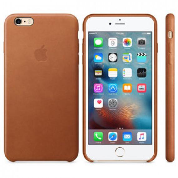 Coque en cuir Apple Havane pour Apple iPhone 6s Plus