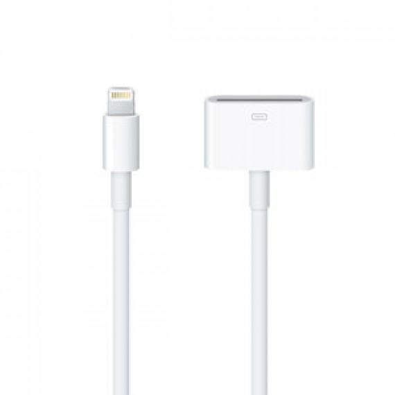 Apple Câble Lightning vers 30 broches - 0.2 m - Adaptateur pour iPhone / iPad / iPod avec connecteur Lightning