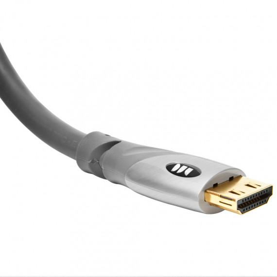 Câble HDMI 2.0 Monster HDMI UltraHD Gold  3 mètresà hautes performances compatible 3D, Full HD (1080p) et Ultra HD 4K (2160p)