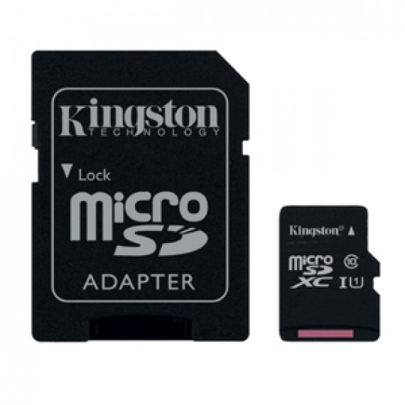 KINGSTON SDC10G2/16GB + adaptateur SDHC