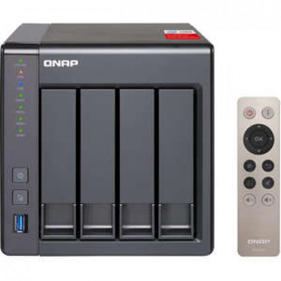 Serveur NAS 4 baies multimédia Kodi QNAP TS-451+-8G avec 8 Go de RAM (sans disque dur)