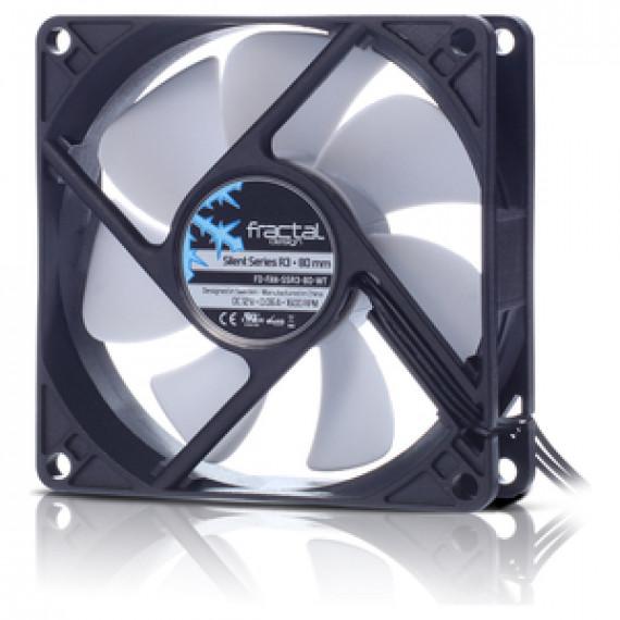 Ventilateur de boîtier Fractal Design Silent Series R3 80 mm
