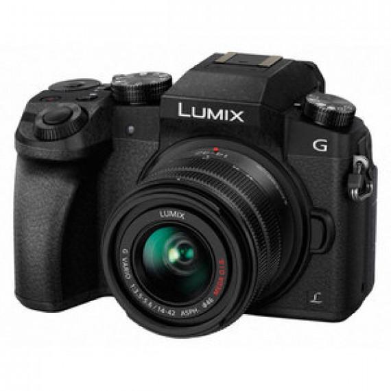 Appareil photo 16 MP PANASONIC DMC-G7KEF + 14-42 MM - Zoom numérique x4 - Vidéo 4K - Wi-Fi intégré