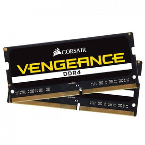 Mémoire RAM Corsair Vengeance SO-DIMM DDR4 16 Go (2 x 8 Go) 2666 MHz CL18 - Kit Dual Channel RAMPC4-21300 - CMSX16GX4M2A2666C18 (garantie 10 ans par Corsair)
