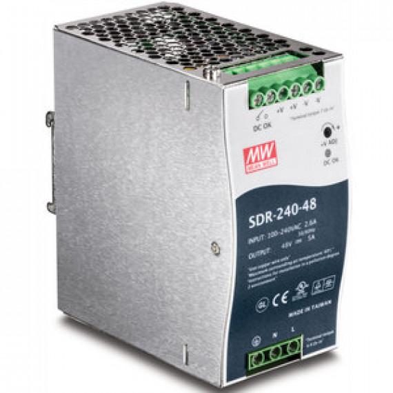 Alimentation électrique TRENDnet TI-S24048 rail DIN électrique à sortie simple 240 W