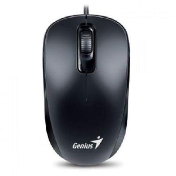 Souris optique filaire Genius DX-110 PS2 Noir