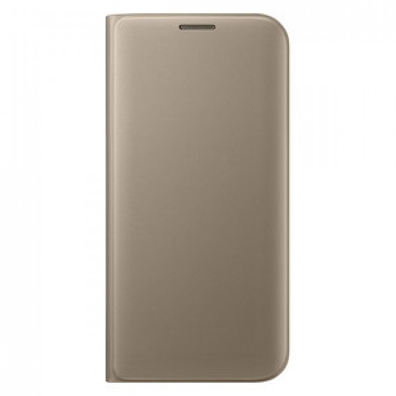 Etui portefeuille pour Samsung FLIP WALLET OR SAMSUNG Galaxy S7 Edge