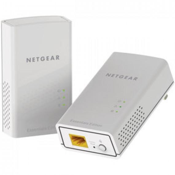 Pack de 2 adaptateurs CPL Netgear PL1000 1000 Ethernet 1000 Mbits/s avec 1 port Gigabit Ethernet