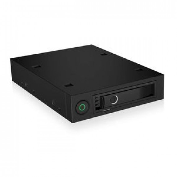 """Rack mobile ICY BOX IB-2212SSK pour disque dur SATA/SAS et SSD 2,5"""" dans baie 3.5"""""""