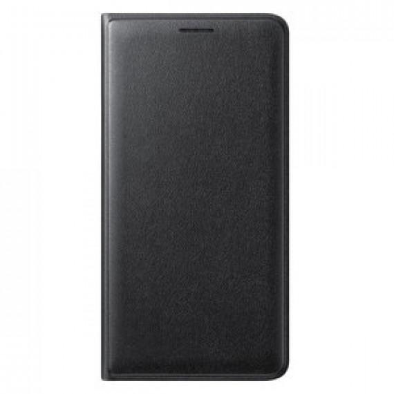 SAMSUNG Flip Wallet Noir Galaxy J3 2016