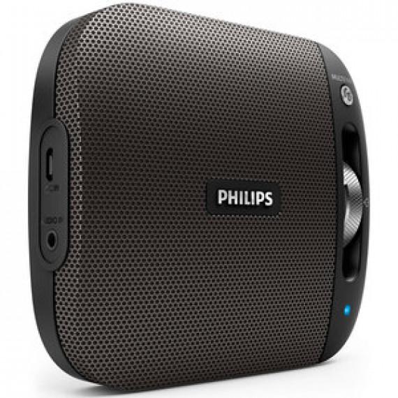 Enceinte portable Philips BT2600 Noir - sans fil Bluetooth Multipair avec micro intégré