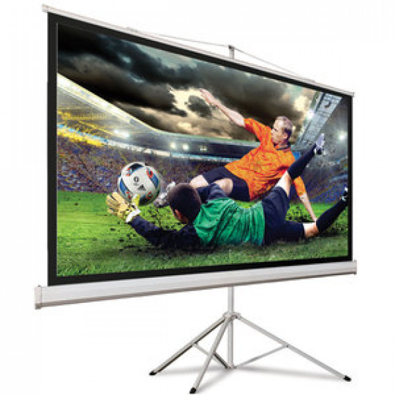 HDElite Hama 00018790 Ecran de projection sur pied 125 x 125 cm Blanc