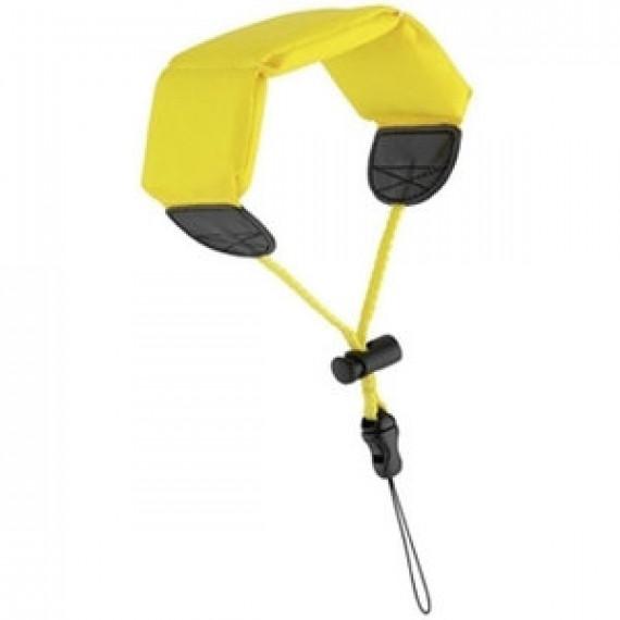 Accessoire divers - Ricoh Dragonne flottante - Dragonne flottante jaune pour appareil photo compact Optio W et WG