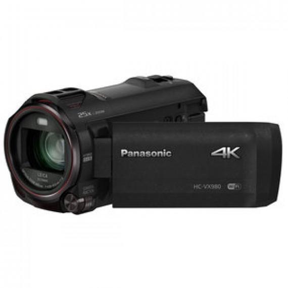 Caméscope Panasonic HC-WX980EF-K - Ultra HD 4K avec objectif zoom 20x