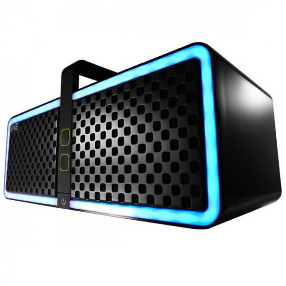 Enceinte portable Hercules WAE NEO 15 W sans fil Bluetooth NFC avec éclairage multicolore