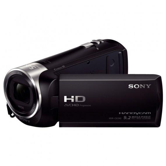 Caméscope SONY - CX2408GODI MS/MicroSD-AVCHD 1080p/MP4-Zoom x27-Photo 9,2 Mp-Bionz X-LCD 6,7 cm-Noir+ SD8 Go haute définition