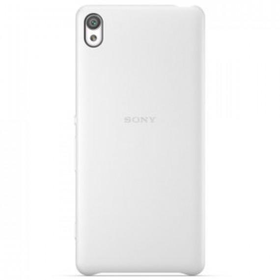 Coque arrière Sony Style Cover SBC26 Blanc Sony Xperia XA - blanc pour Sony Xperia XA