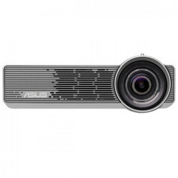Vidéoprojecteur ASUS P3B LED DLP WXGA - 3D Ready - 800 lumens - focale courte - HDMI/MHL - Wi-Fi - lecteur micro SD et ports USB 2.0