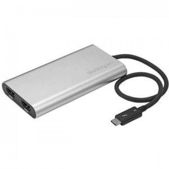 Adaptateur StarTech.com TB32HD2 - Thunderbolt 3 vers double HDM (compatible 4K)