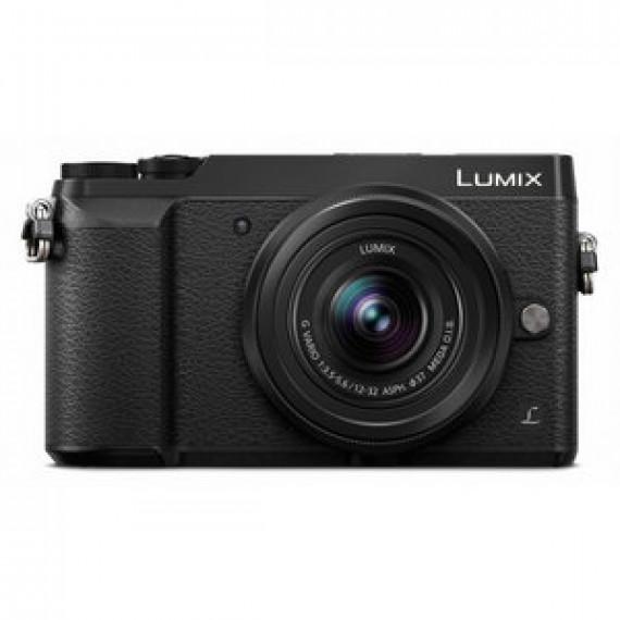 Appareil photo Panasonic DMC-GX80KEFK Noir  - 16 MP - Vidéo 4K - Écran tactile - Wi-Fi + objectif 12-32 mm