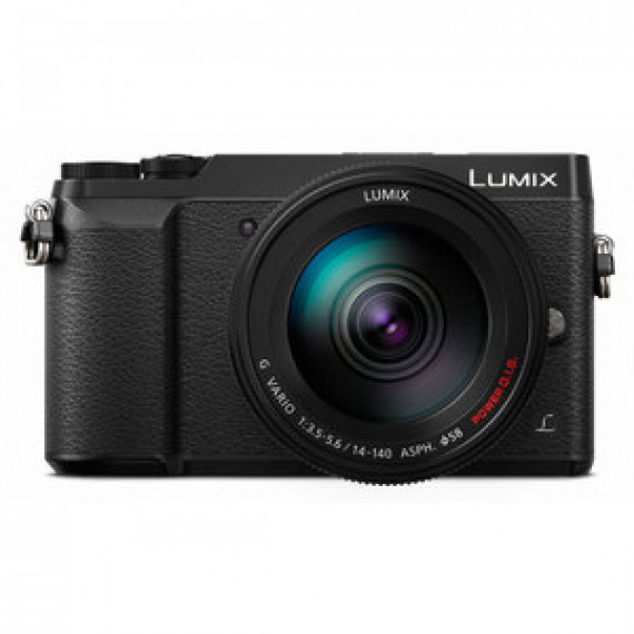 Appareil photo Panasonic DMC-GX80HEFK Noir  - 16 MP - Vidéo 4K - Écran tactile - Wi-Fi + objectif 14-140 mm