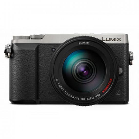 Appareil photo Panasonic DMC-GX80HEFS Argent - 16 MP - Vidéo 4K - Écran tactile - Wi-Fi + objectif 14-140 mm