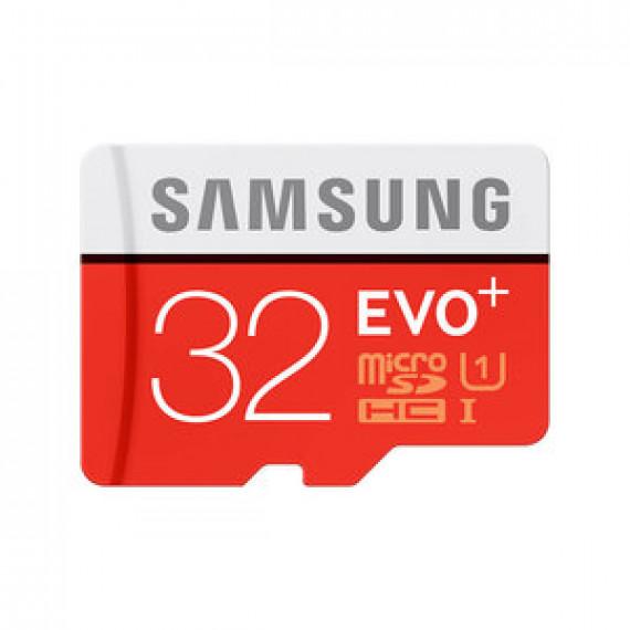 SAMSUNG EVO Plus microSD 32 Go + adaptateur