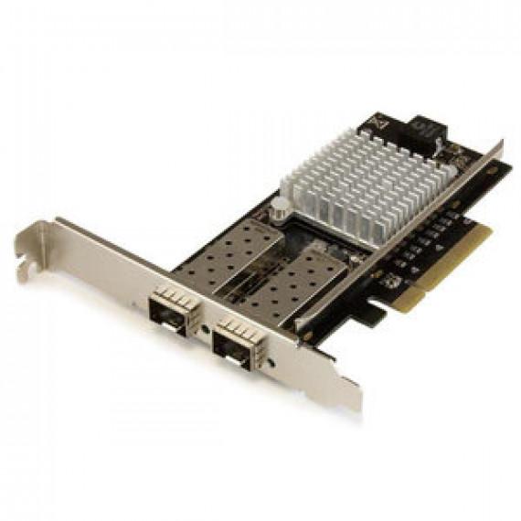 Carte réseau StarTech.com PEX20000SFPI - PCI Express à 2 ports fibre optique 10 Gigabit Ethernet avec SFP+ ouvert et chipset Intel