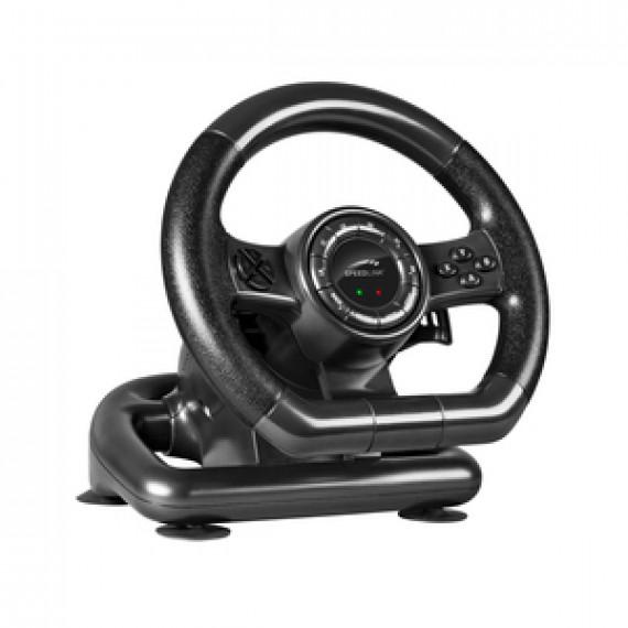 Volant Speedlink Black Bolt - Ensemble volant et pédalier (PC)