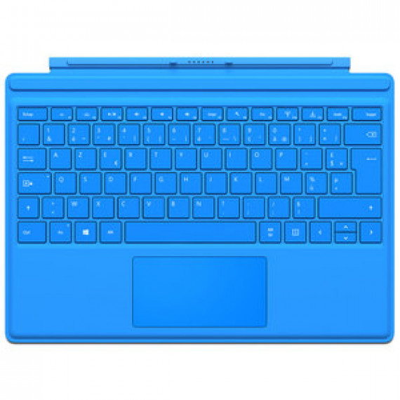 Microsoft Type Cover Surface Pro 4 Bleu vif