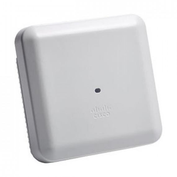 Point d'accès sans fil Cisco Aironet 3802i-e Access Point 5.2 Gbps Wi-Fi ac Dual Band Wave 2 (2.4 + 5 GHZ ou 2 x 5 GHZ ou 5 GHz) avec contrôleur intégré + 2 x Multigigabit Ethernet