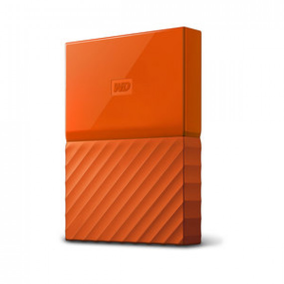 WESTERN DIGITAL MY PASSPORT 2 TO ORANGE