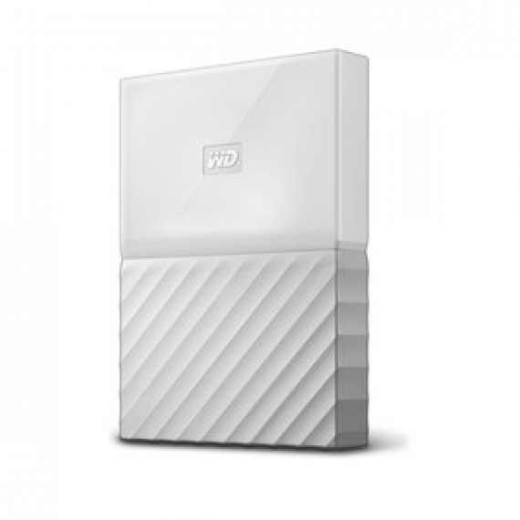 "Disque dur externe 2.5"" WD MY PASSPORT 2 TO BLANC sur port USB 3.0 / USB 2.0"