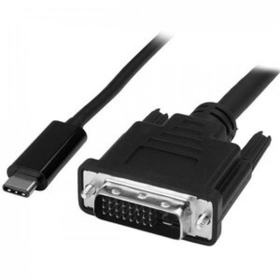 Câble adaptateur STARTECH.COM CDP2DVIMM2MB USB-C vers DVI - 2 m