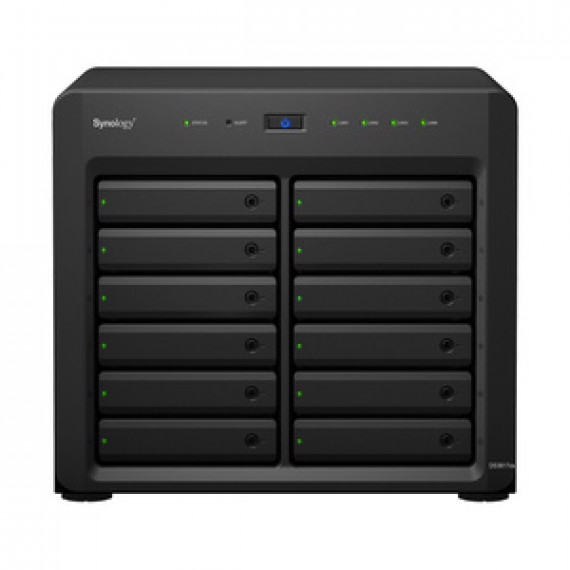 Serveur NAS SYNOLOGY DISKSTATION DS3617XS 12 baies hautes performances extensible avec processeur Intel Xeon D-1527 quad-core 2.2GHz