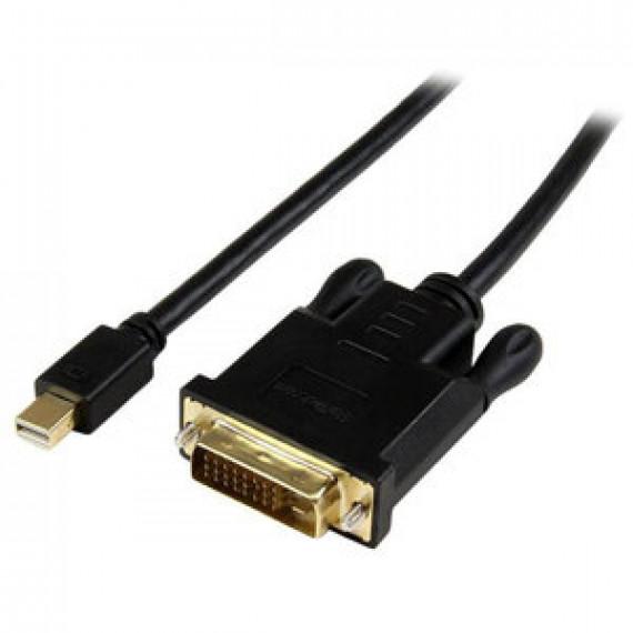 Adaptateur actif StarTech.com MDP2DVIMM3BS - Mini DisplayPort vers DVI-D (Mâle/Mâle) - 0.9 mètre