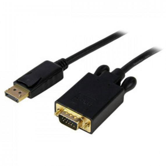 Adaptateur StarTech.com DP2VGAMM3B - DisplayPort vers VGA (Mâle/Mâle) - 0.9m