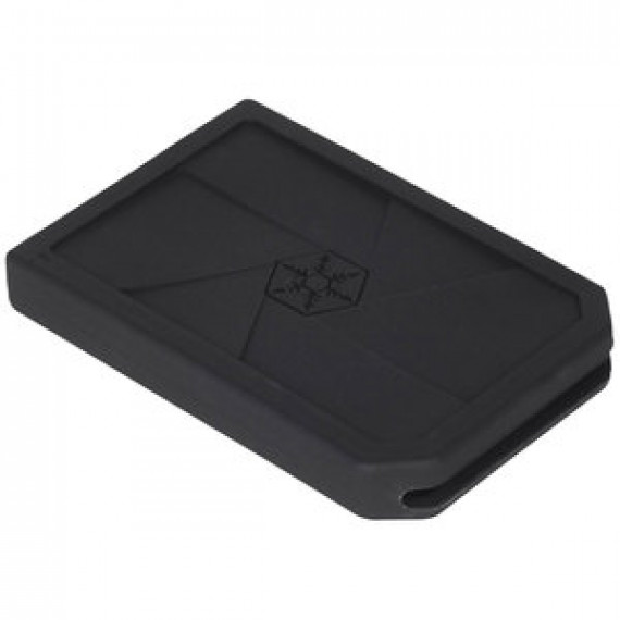 "Etui en silicone SILVERSTONE MOBILE MS07 pour HDD/SSD 2.5"" SATA"