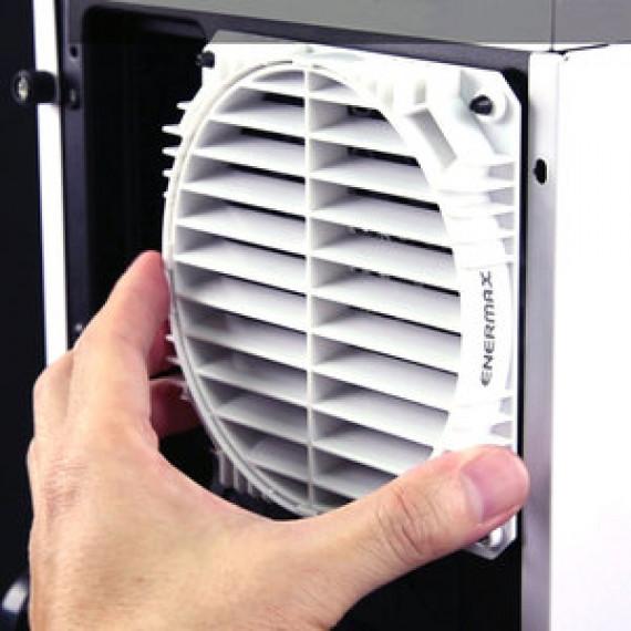 Guide d'air à 360° pour ventilateurs de 120 mm Enermax EAG001 Noir