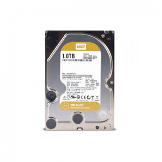 "Disque dur interne WD Gold 1 To - pour centres de données - 3.5"" - 1 To - 7200 RPM - 128 Mo - Serial ATA 6 GB/s"
