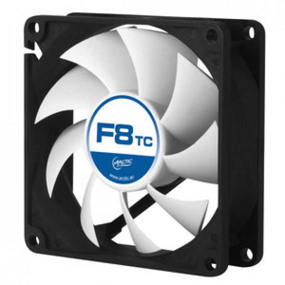 Ventilateur de boîtier Arctic F8 TC - 80 mm haute performance avec température contrôlée